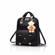 Николь и Дорис новые женские школьная сумка дорожная сумка для девочек путешествия рюкзак женский рюкзак из искусственной кожи Модные