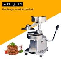 Commercial Manual hamburger press machine hamburger patty maker hamburger mould|Manual Burger Press Machines| |  -