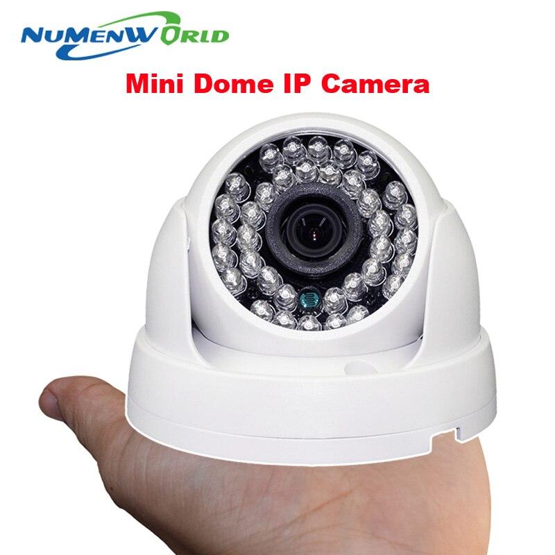 bilder für 1920*1080 2.0MP IR netzwerk IP cam 1080 P HD CCTV videoüberwachung dome sicherheit ip-kamera ONVIF tag/nacht innen webcams