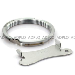Image 3 - M42 PK, adaptador de lente para lente de montaje de tornillo Focus Infinity M42 para adaptarse a la Cámara Pentax para anillo de adaptador de montaje al cuerpo PK (Plata)