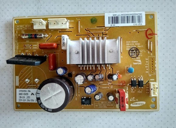 DA92-00459A BCD-286WNQISS1 Refrigerator Computer Board conversion board good working for embraco refrigerator pc board computer board used bcd 558wa bcd 558wyjz 0064001350 frequency conversion board