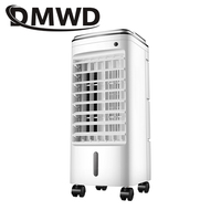 DMWD Electric Air Conditioner Blower Remote Cooling Water Mist Fan Humidifier Moisturizing Conditioning Cooler Ventilator EU US