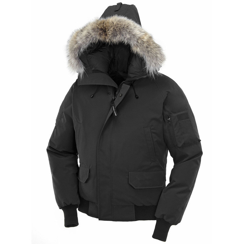 Down-Jacket Canada Goose-Down Winter Thicken Male Windproof Outdoor 1pcs Cold-Protection