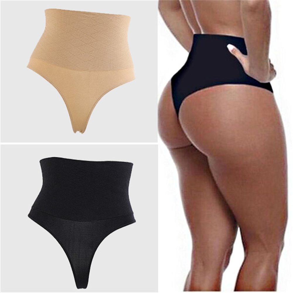 Women High Waist Seamless Body Shaper Control Panties Tummy Belly Waist Slim Pant Shapewear Underwear Waist Trainer