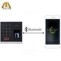 X8 BT Bluetooth fingerprint RFID card access control device with ZKBioBT APP software