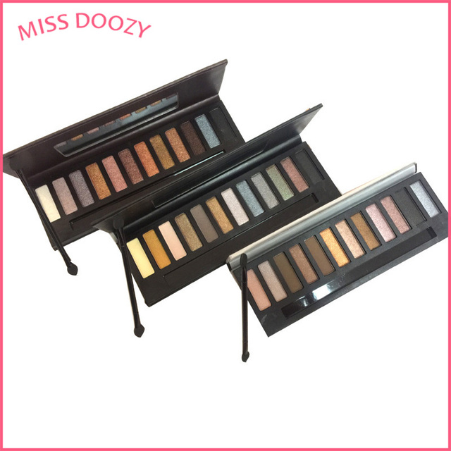 Miss doozy Makeup Box Palette Naked Basic Cosmetic