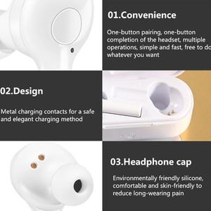Image 4 - Sport musique sans fil écouteurs réduction du bruit bluetooth casque avec Microphone écouteur pour Huawei P30 Lite P20 Pro P10 Pc