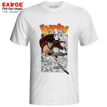 Arsene Lupin 3rd III T-shirt Anime Rupan Sansei Manga Pop Print Skate T Shirt Brand Casual Fashion Women Men Top Tee