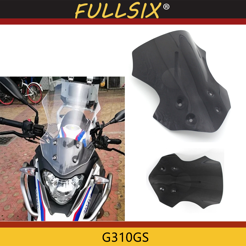 Motorcycle Parts Motorcycle Windshield WindScreen Viser VIsor Front Glass for <font><b>BMW</b></font> G310GS G310 <font><b>GS</b></font> <font><b>G</b></font> <font><b>310</b></font> <font><b>GS</b></font> 2017-2018 image
