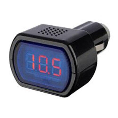 ЖК-дисплей Авто-прикуриватели Напряжение цифровой Панель вольтметр Мониторы для авто грузовик
