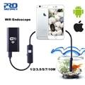 PROSTORMER Wifi Endoskop Kamera Android 720P Iphone Endoskop Kamera Wasserdichte Endoscopio Android iOS Boroskop Kamera 4-in Endoskope aus Werkzeug bei