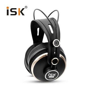 Original ISK HD9999 Pro HD Monitor de Monitoramento de Fone De Ouvido DJ Fones de Ouvido Com Fio Totalmente fechado/Áudio/Mistura/Estúdio de Gravação fone de ouvido