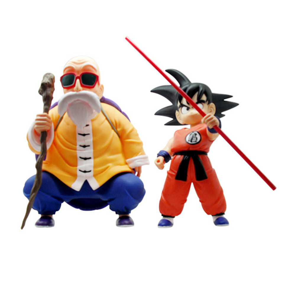 Chanycore 23CM Anime Dragon Ball Z Son GOKU Master Roshi Super Saiyan Action Figures crystal balls PVC Limit Boxed Gift 0433 2016 summer patent leather buckle slides for women fashion stone upper flat platform ladies casual beach slippers sandals shoes