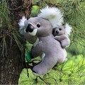 30CM Koala bear cinereus mother and son plush toy bear doll child