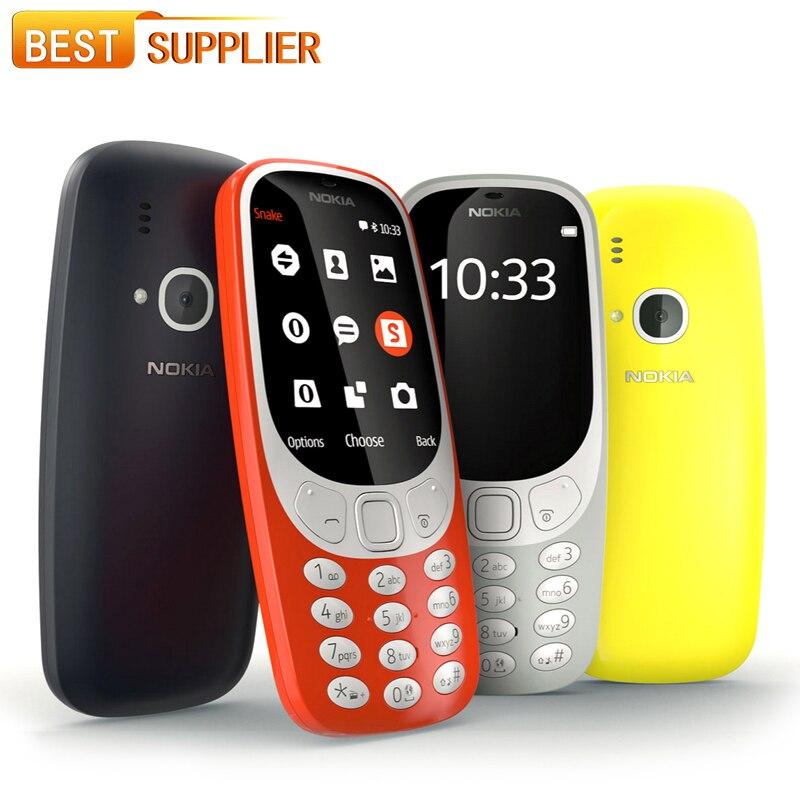 bilder für Nokia 3310 (TA-1030) LED-Blitz 2MP microSD bis zu 32 GB Lange Standby-zeit 1200 mAh 2,4 zoll Dual SIM Smartphone