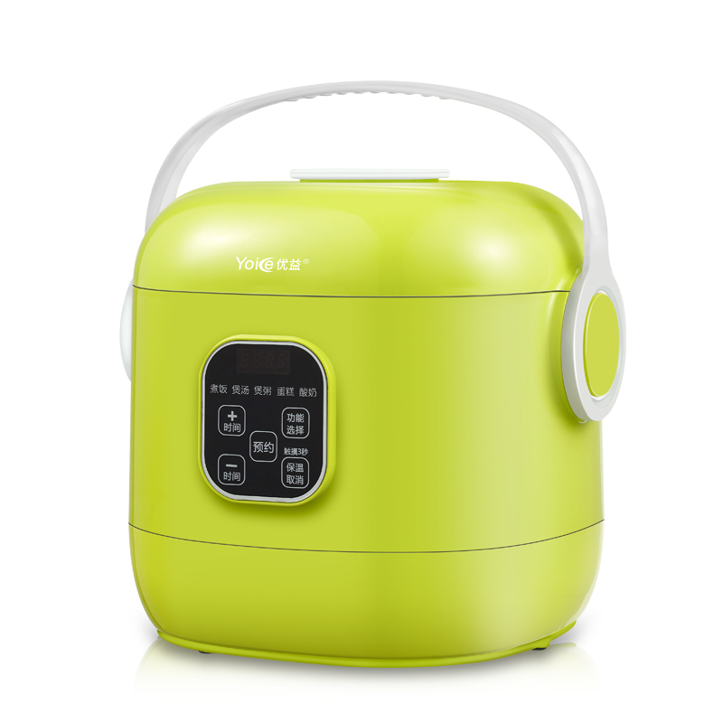 Yoice Portable Mini Multi Auto Rice Cooker 2L for 1-4 People Soup Porridge Cake Yogurt Maker Machine футболка классическая printio знаки зодиака дева