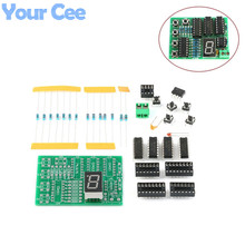 Four Person Responder Diy Kit 4 way Answering Teaching Practice Welding PCB Board Fun Elect