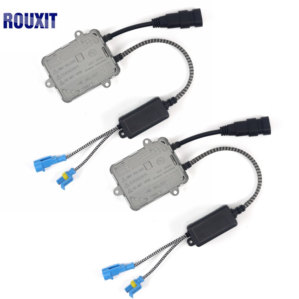 2pcs AC 12V 55W Xenon Ballast Fast bright Slim Digital Conversion Ballast H4 H7 H1 H3
