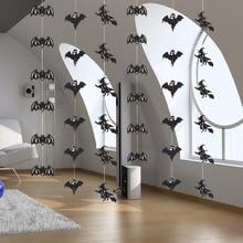 6 PCs Horror Designs Paperboard Hanging String Halloweens
