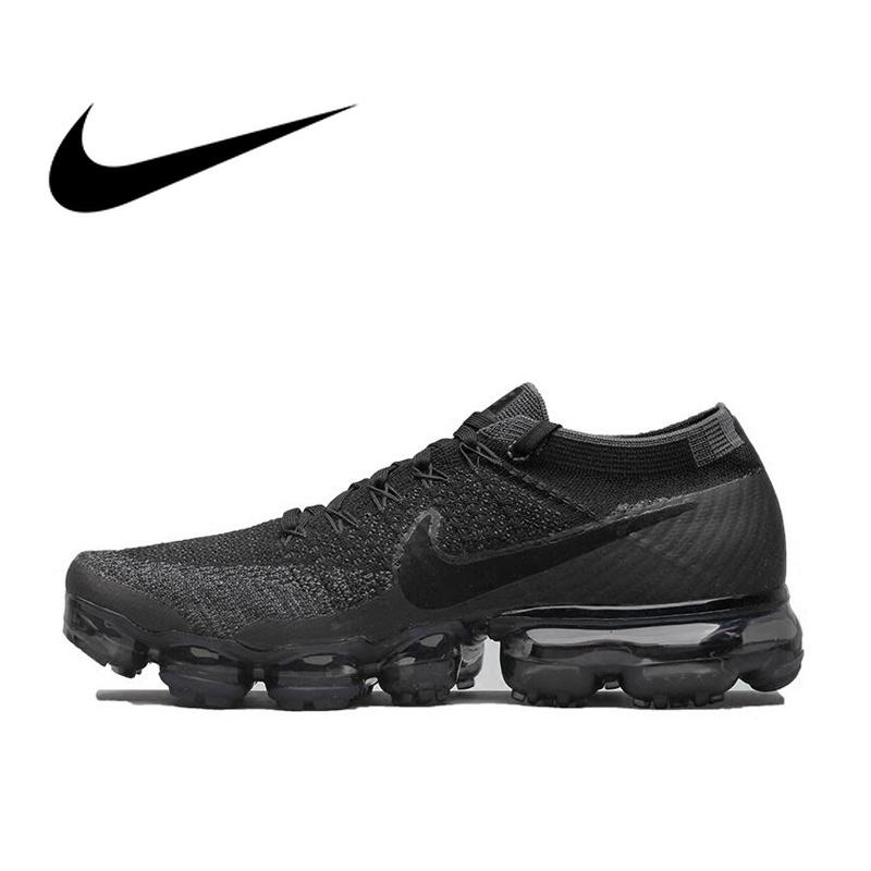 Original Nike Air VaporMax Be True Flyknit Breathable Men s Running Shoes  Sport Official Sneakers Outdoor 849558 Durable Classic ac0d3ac98