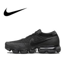 Оригинальная продукция Nike Air VaporMax быть правдой Flyknit дышащая Для Мужчин's Беговая спортивная обувь официальный кроссовки открытый 849558 Прочный классический
