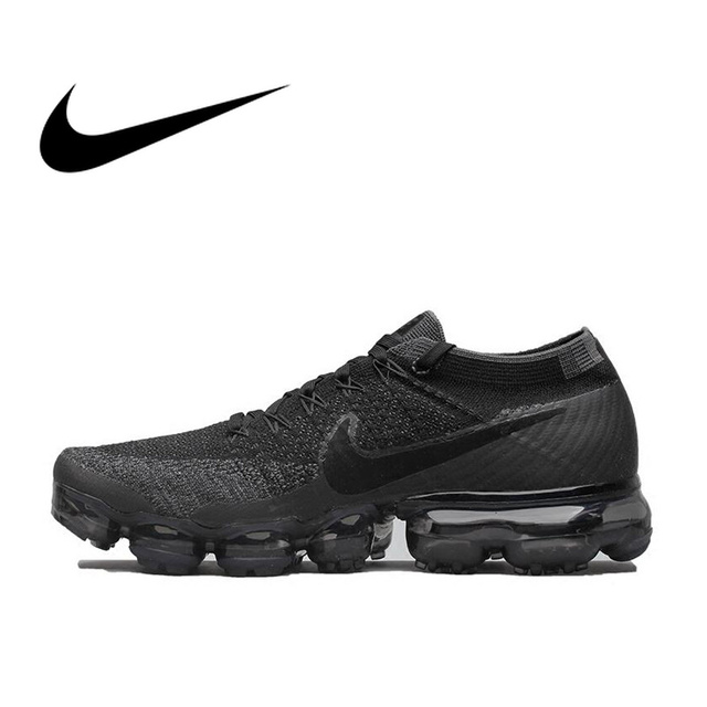 627b68cf380 Original Nike Air VaporMax Be True Flyknit Breathable Men s Running Shoes  Sport Official Sneakers Outdoor 849558