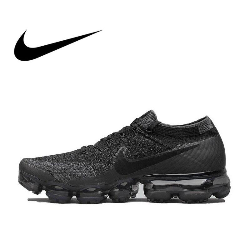 Originale Nike Air VaporMax Essere Vero Flyknit Scarpe Da Ginnastica degli uomini Respirabili di Runningg Scarpe Sport Ufficiale Outdoor 849558 Durevole Classic