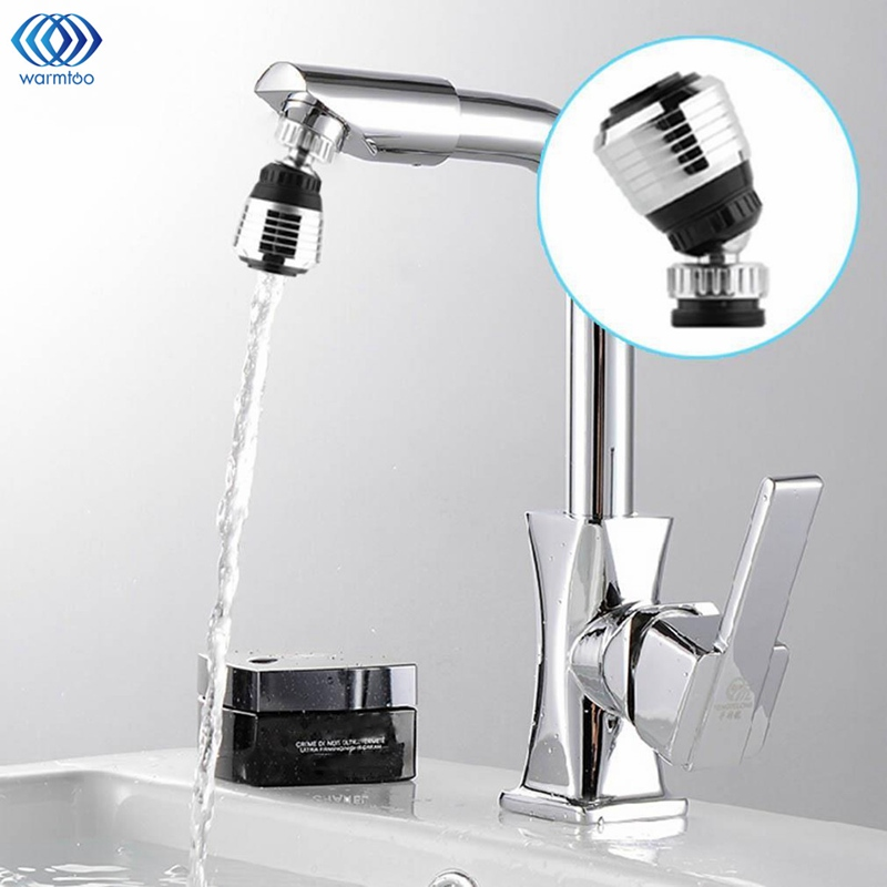 360 Degree Rotatable Tap Water Filter ABS Water Faucet Purifier Parts Oxygen Aerator M22 M24 Thread Kitchen Home