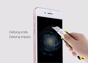Image 5 - 3D Glass For iphone 8 NILLKIN Amazing 3D CP+ MAX Nanometer Anti Explosion Tempered Glass Screen Protector For iphone 8 7 6 plus