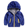 Boy wind-resistant coat 2016 wear the spring and autumn period and children's clothing baby cardigan  autumn coat