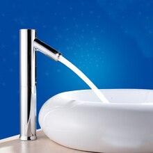Современная Новая Автоматическая Чувство Кран для Кухни ванной бассейна экономии воды, электрический датчик Воды смесителя
