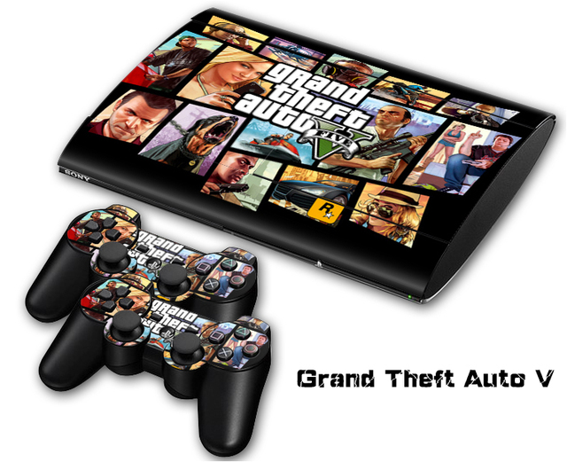 brand new grand theft vinyl skin sticker protector for. Black Bedroom Furniture Sets. Home Design Ideas