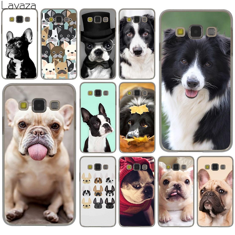 Lavaza French bulldog border collie terrier dog Hard Case for Samsung Galaxy S8 S9 Plus S3 S4 S5 & Mini S7 Edge S6 Edge Plus