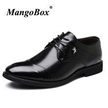 Terbaik Jual Formal Oxford Sepatu untuk Pria Klasik Fashion Sepatu Karet  Sole Sepatu Kantor Pria Hitam a86709533d