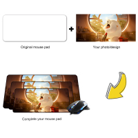 DIY Custom Gaming Mouse Pad Anime Anti slip Natural Rubber Laptop Desk Pads Grande Precision Lock Edge Computer PC Keyboard Mat