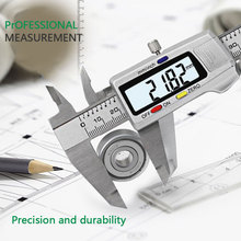 High Stainless Steel Precision Electronic Vernier Caliper with Digital Display LG66 15 300mm inside groove digital vernier caliper with knife edge with flat point electronic high precision good quality