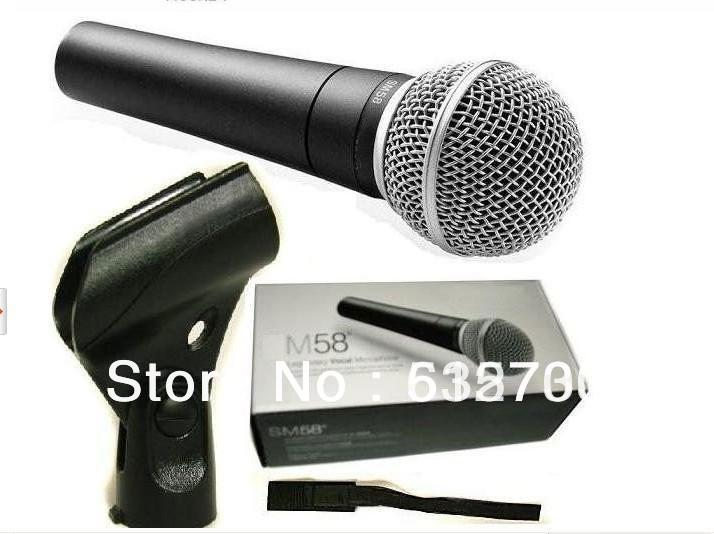 Bolymic NEW W Cable and Boom Stand SSM58LC Cardioid Vocal Microphone