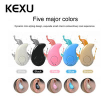 S530 Mini Wireless Bluetooth V4.1 Earphone Stereo Headset n-ear Earbud With Microphone Fone De Ouvido Universal For iPhone6 7(China)