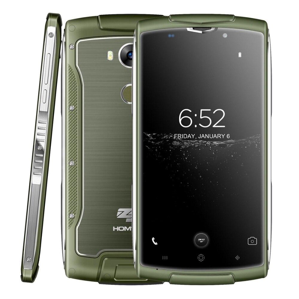 4G HOMTOM ZOJI Z7 Original 5 0 inch IP68 Waterproof Smartphone Android 6 0 MTK6737 Quad