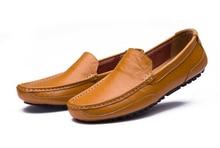 2016 New Arrival High Quality Genuine Leather Men's Shoes Leather Lazy Man Fashion Mocasines Hombre Shoes Men Zapatillas Hombre