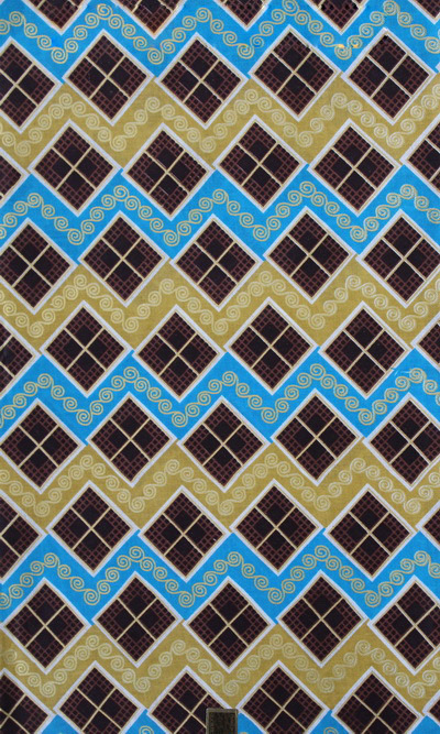 African Wax Plaid Print Fabric Leaves Swiss Switzerland Lace Luxury Contrast Color Textile Hollandais Cotton In From Home Garden