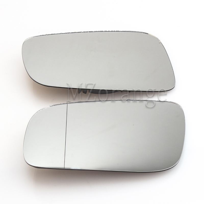 SEAT ALHAMBRA 1996-/>2010 DRIVER//RH SIDE DOOR//WING MIRROR GLASS SILVER ASPHERIC