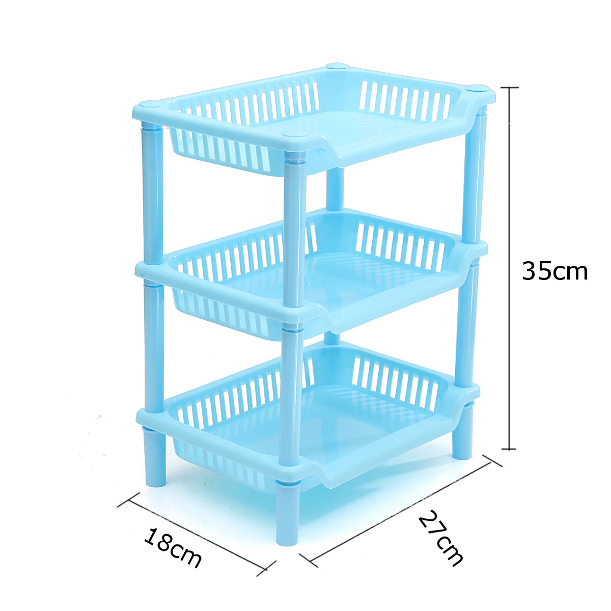 Corner Shelf Unit Organizer Bathroom Kitchen Storage Rack Holder ...