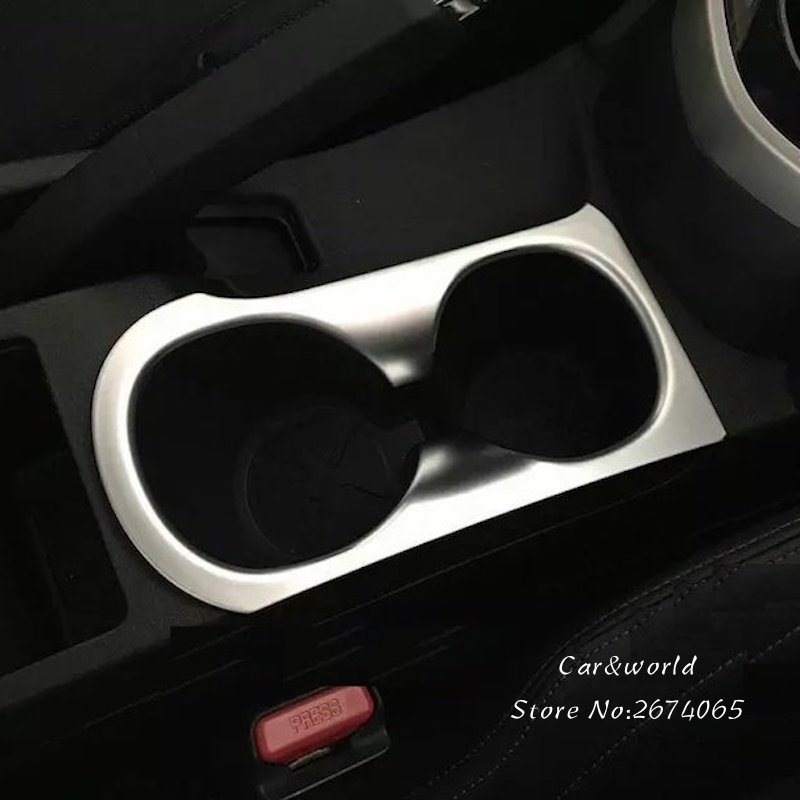 For Nissan Qashqai 2008-2013 ABS Chrome Water Cup Holder Decoration Cover Trim