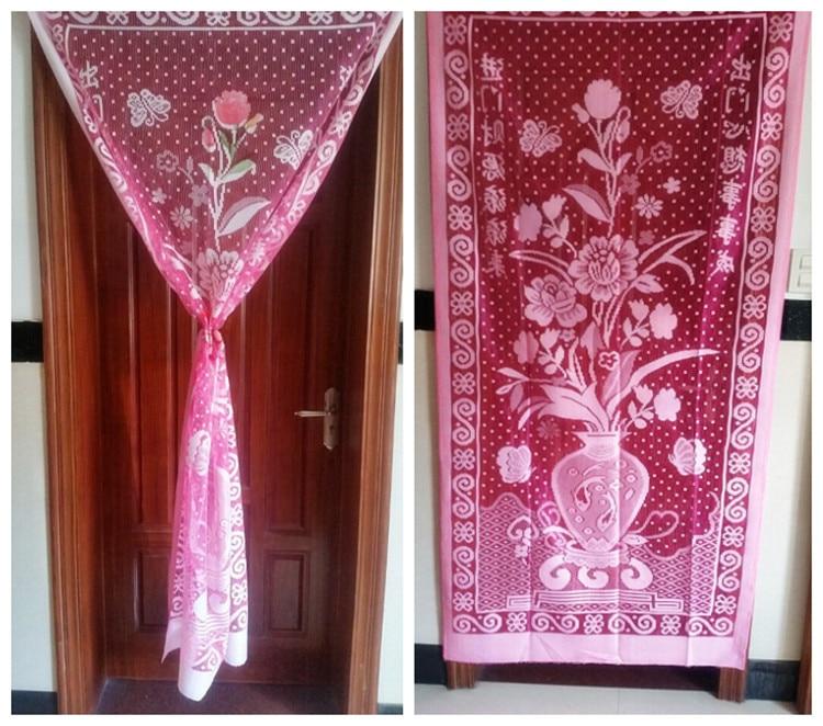 Elegant 2pcs Thick Tablecloth Sofa Cloth Towel Air Conditioning Yarn Window Yarn  Bath Towel Cloth Flower Practical Length Can CustomizedUSD 12.05/lot