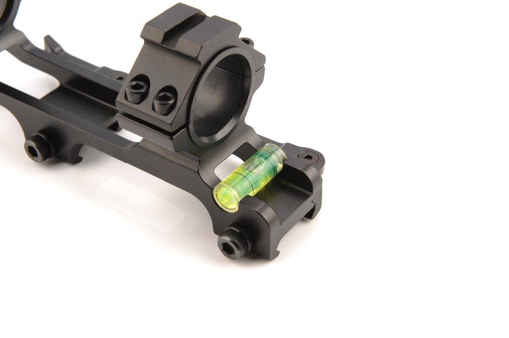 Picatinny trilho 30mm 25.4mm âmbito anel qd