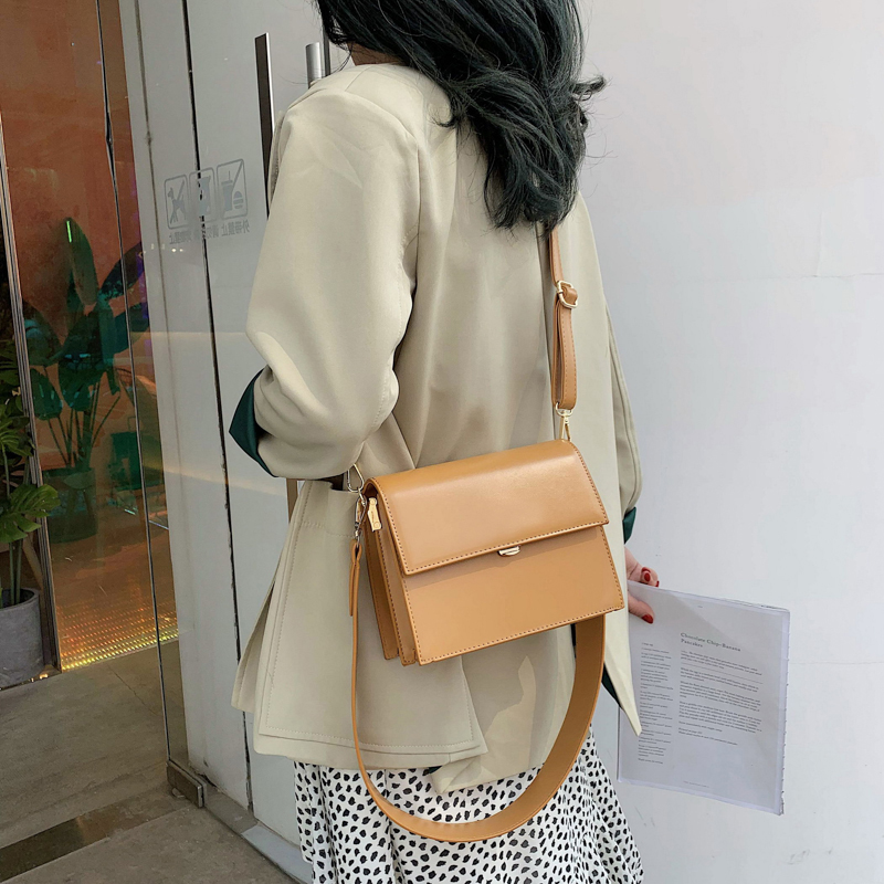 Retro Casual Women Bag New Quality PU Leather Women's Designer Handbag Vintage Ladies Shoulder Messenger Bags For Female Tote