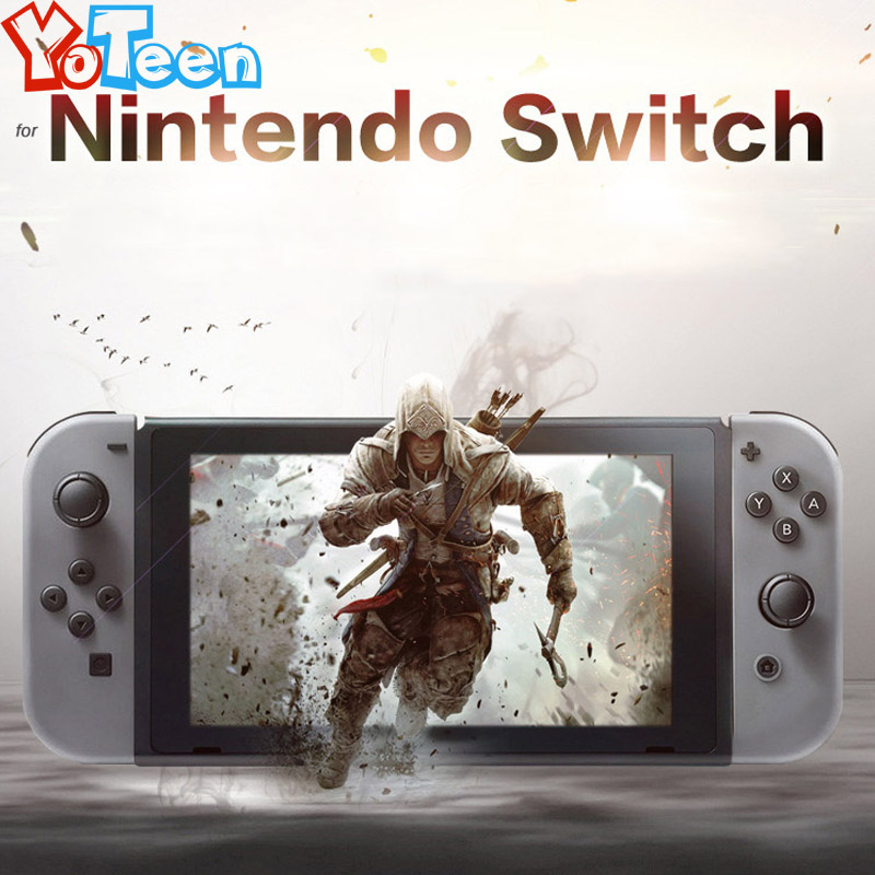 2Pcs for Nintendo Switch NS Protector Soft Film Full HD Ultra Clear Protective Film for Nintendo Switch NS Console Screen Skin