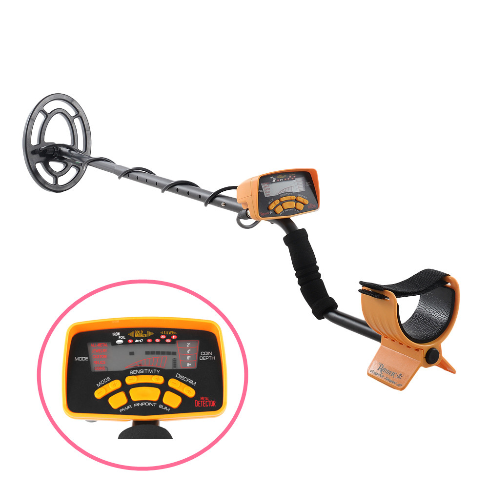 Free Shipping MD6250 Gold Detector Searching Treasure Hunter With LCD Screen Industrial Underground Gold