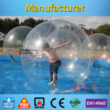 Free shipping German brand zipper 1.0mm PVC 2m Inflatable Water Ball Water Walking Ball free shipping water walking ball 2m diameter 0 8mm pvc inflatable ball walk zorb ball inflatable human hamster ball